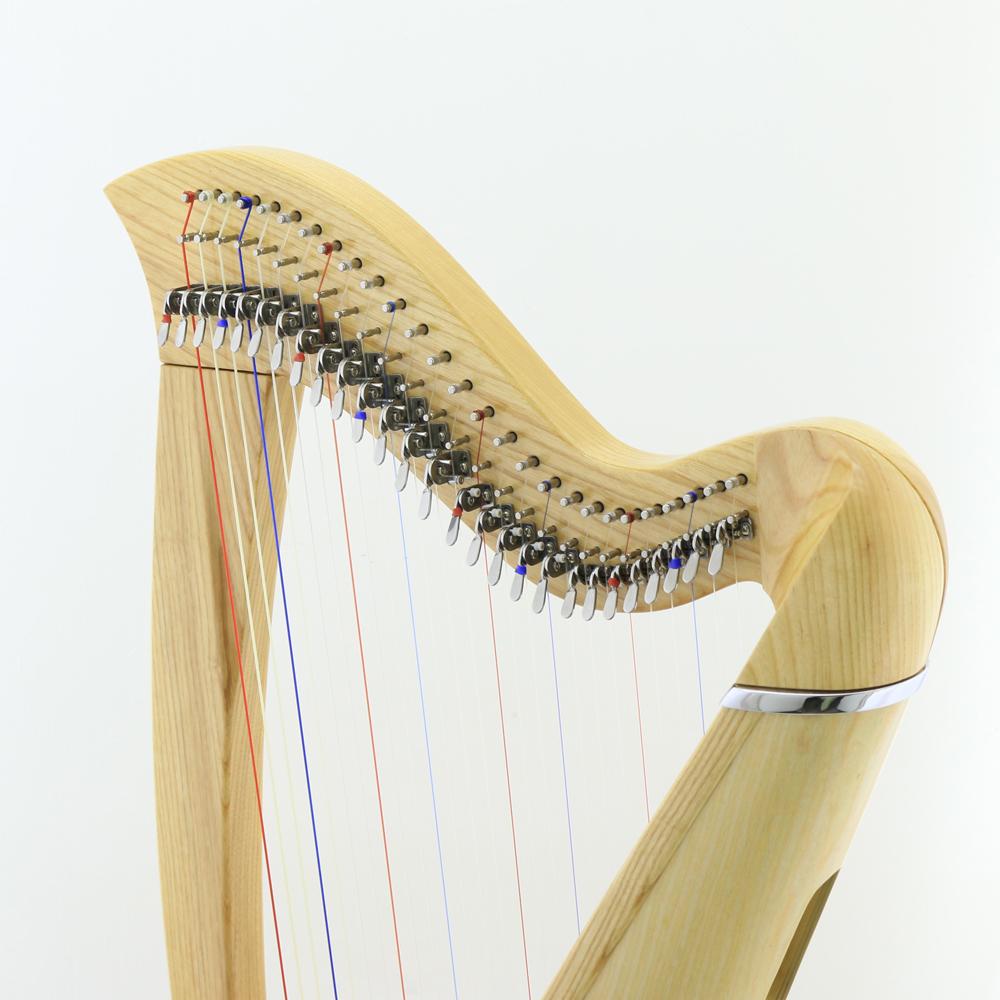 27 strings harp