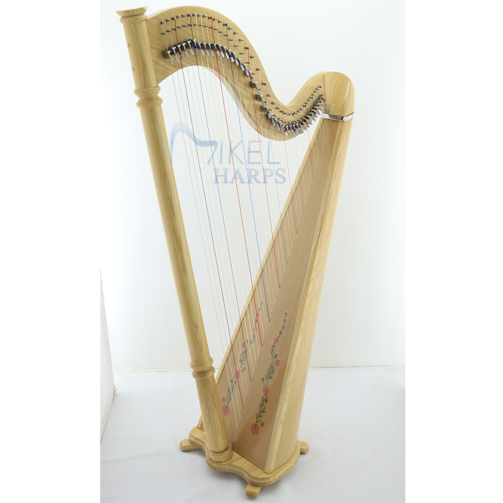 38 Strings Lever harp for sale