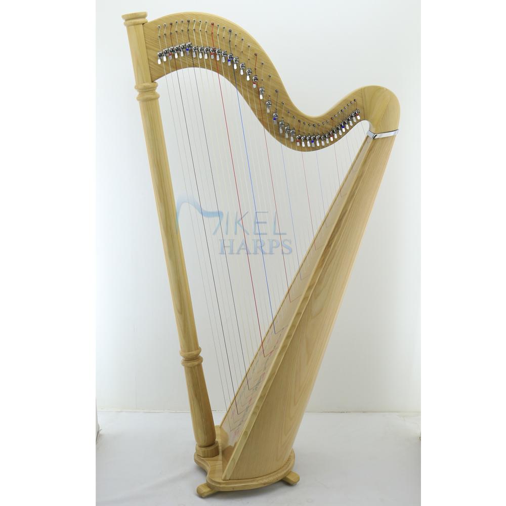 38 Strings Lever harp Natural