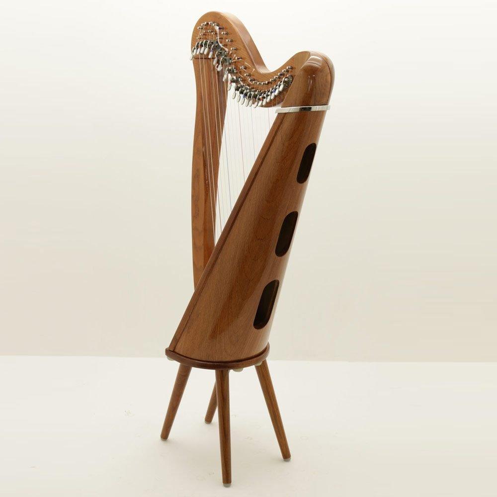 harp legs with 22 string harp