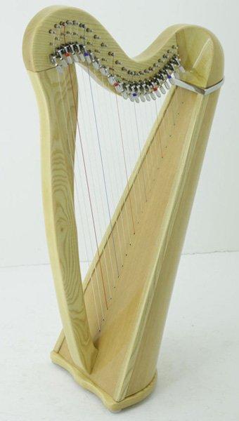 22-string-cetlic-harp