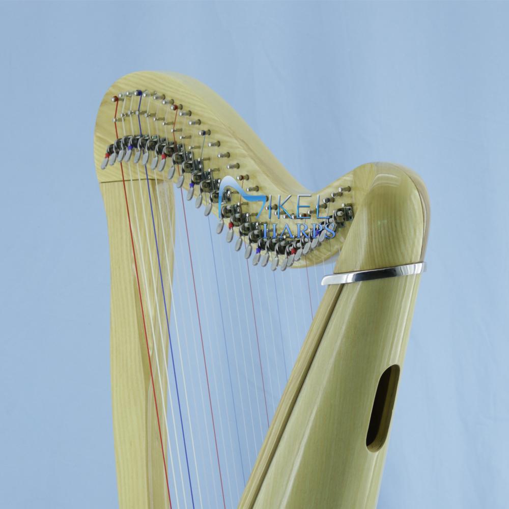 27 string celtic harp neck