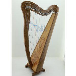 34 String Celtic Harp