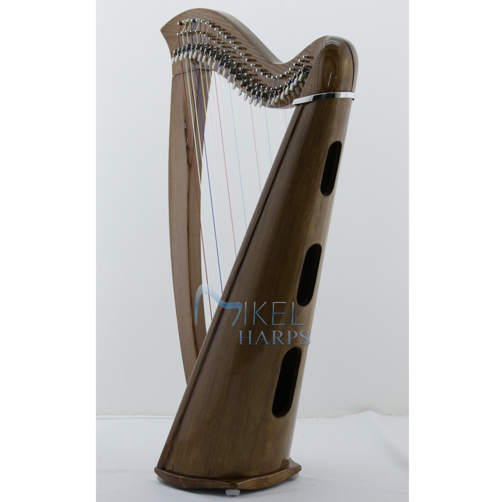 27 string harp soundbox