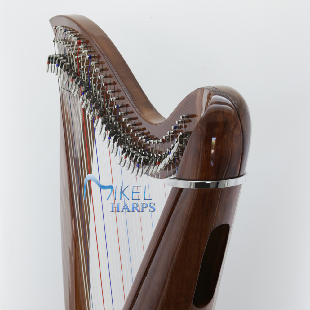 34 string harp neck