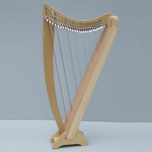 Celtic Lap Harp with Stand