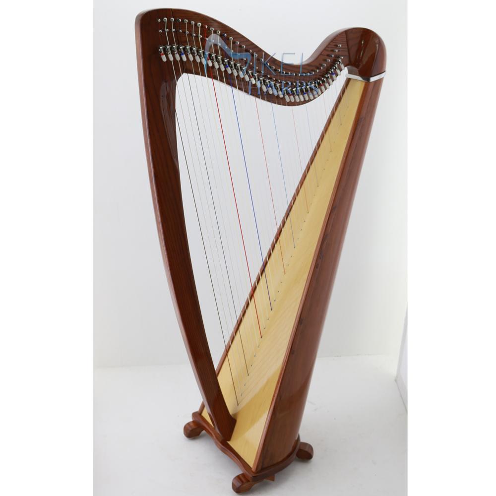 Celtic Harp 34 Stirng Mahogany Finish