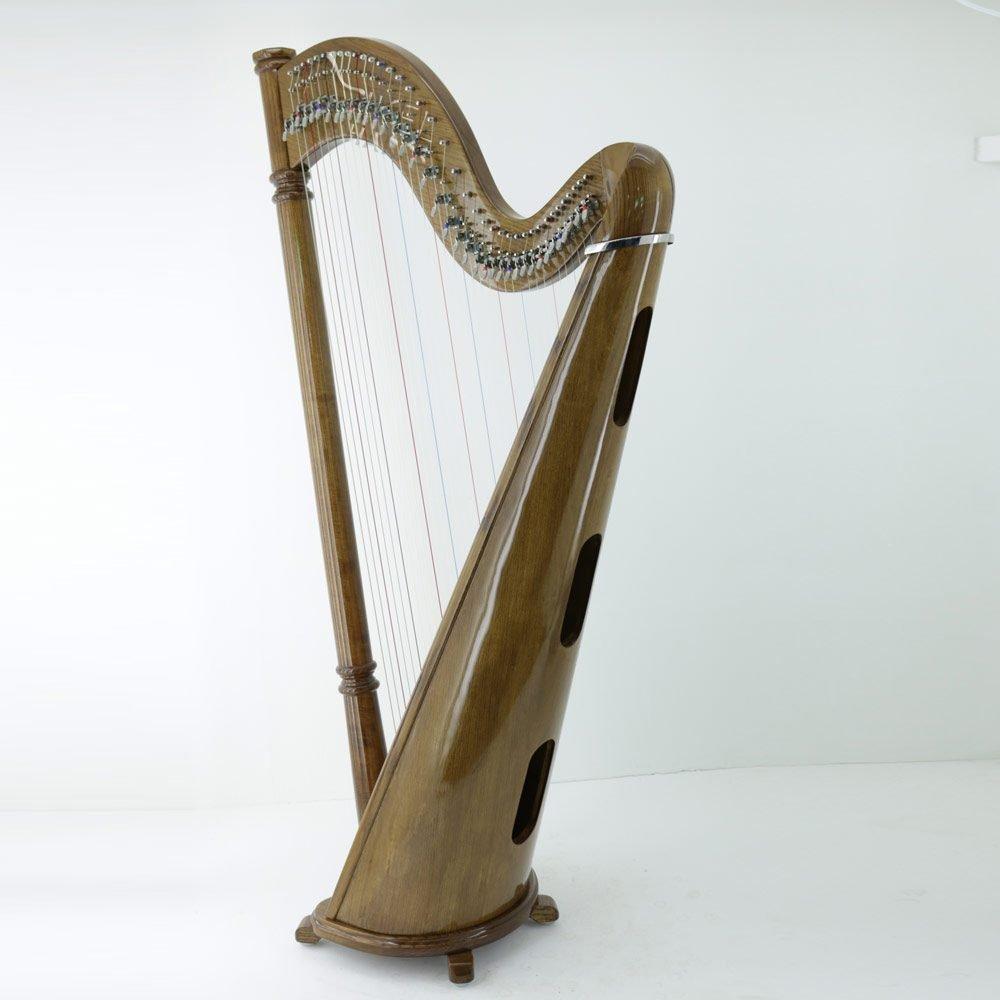 classic harp soundbox walnut finish
