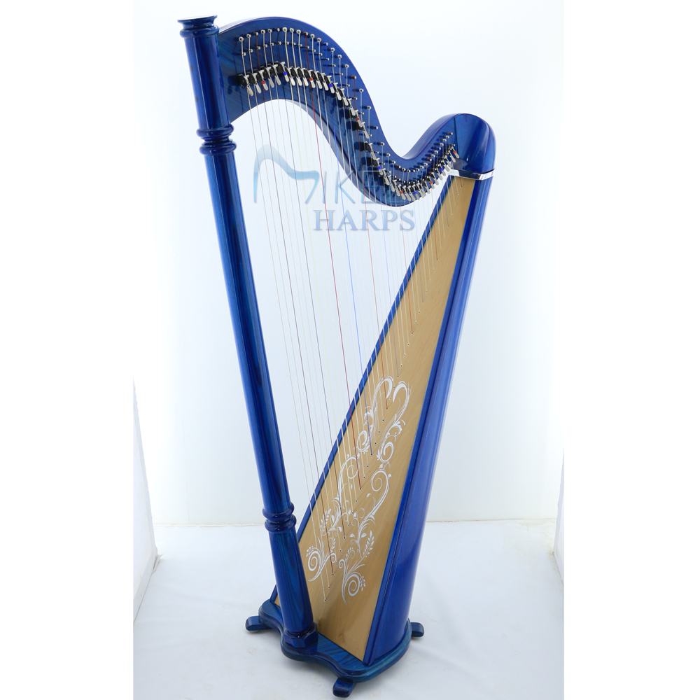 Mikel 38 Strings Lever Harp