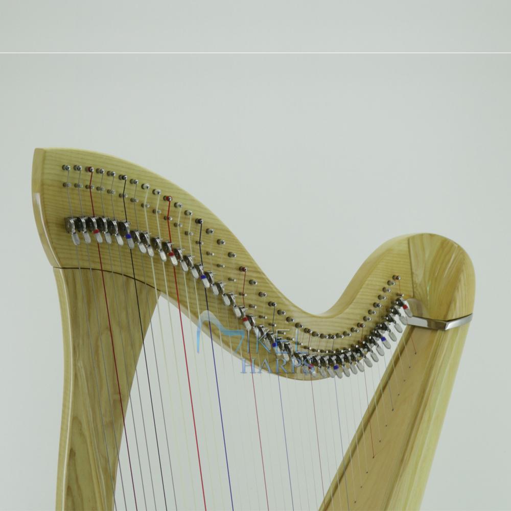 38 string harp harmonic curve