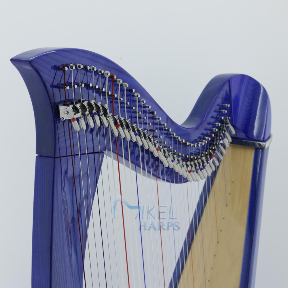 34 string harp harmonic curve