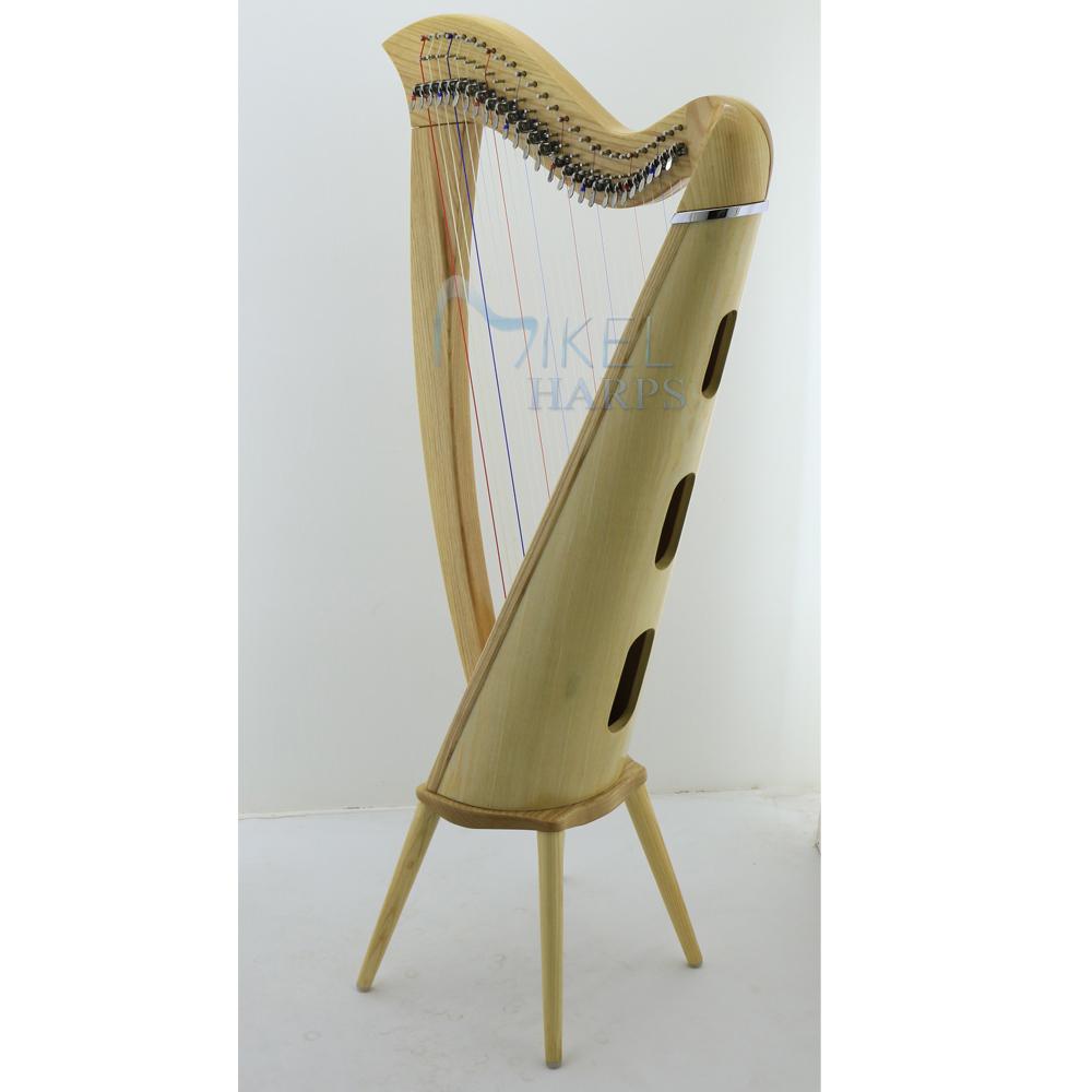 27 strings harp legs