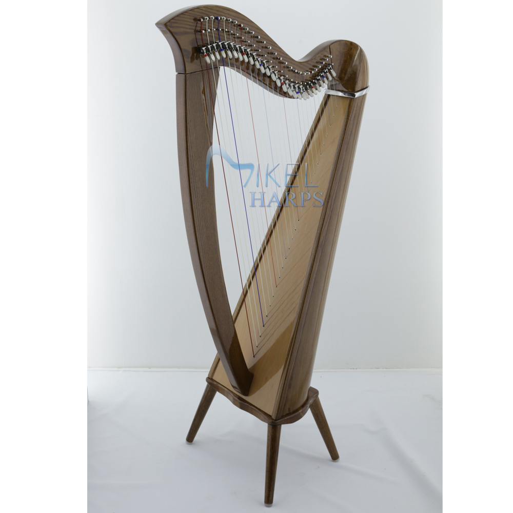 27 string harp with legs