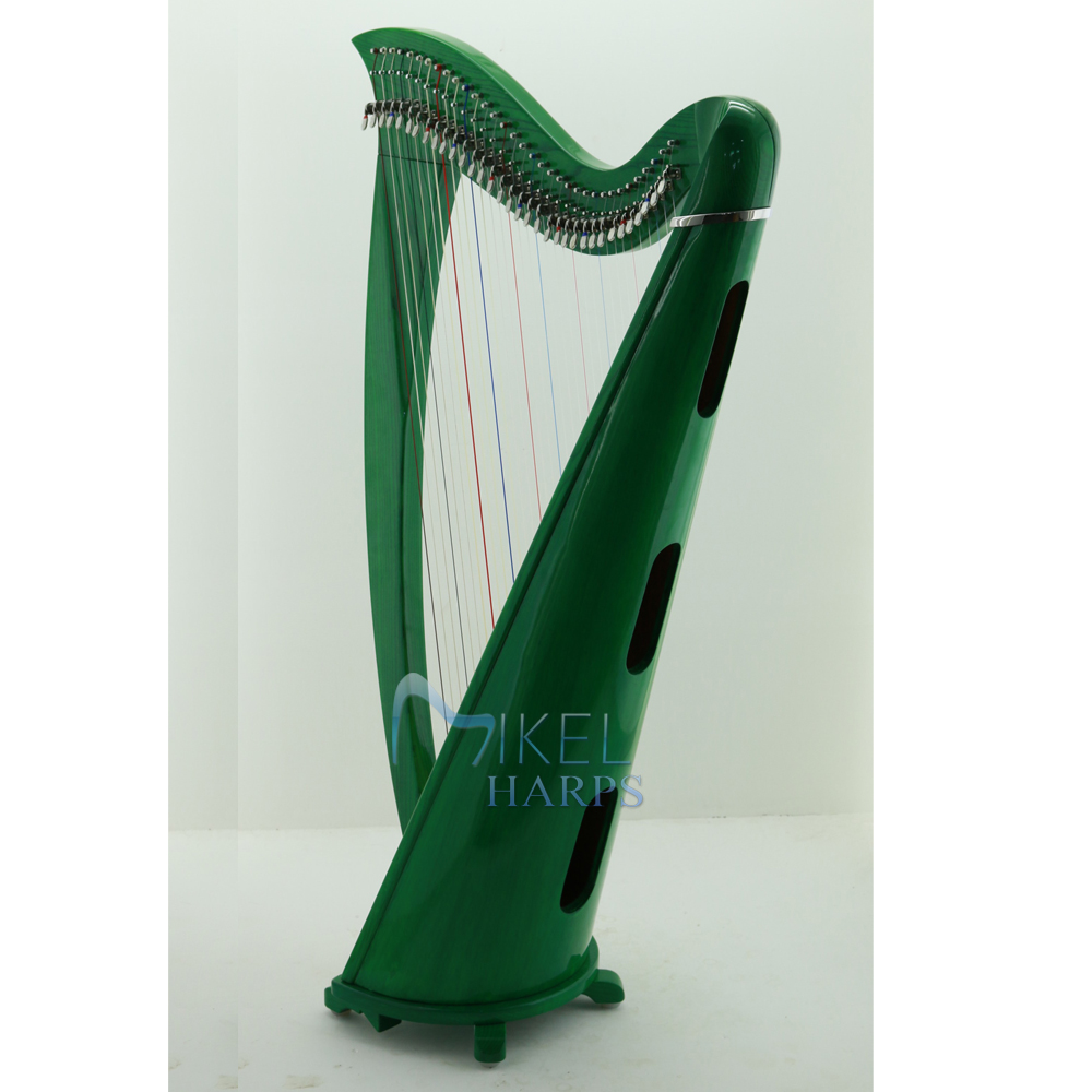 34 string harp soundbox