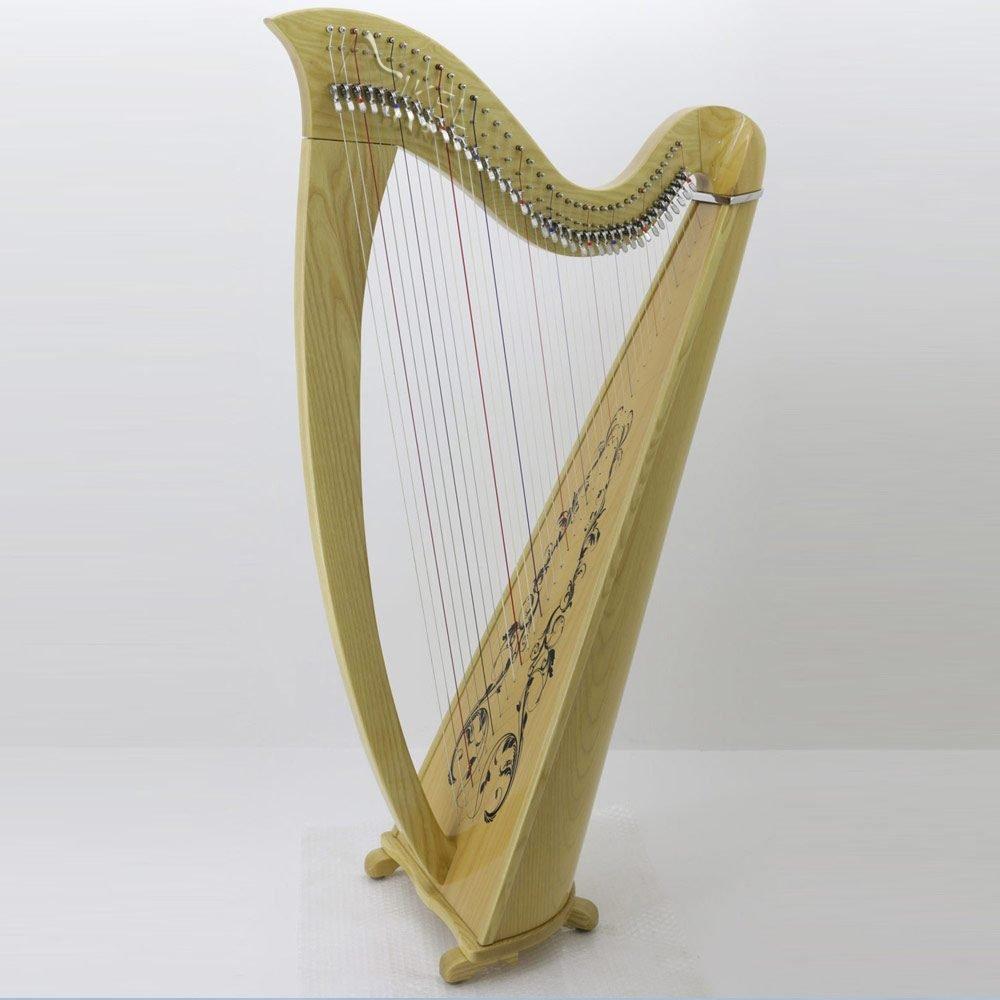 38 string harp