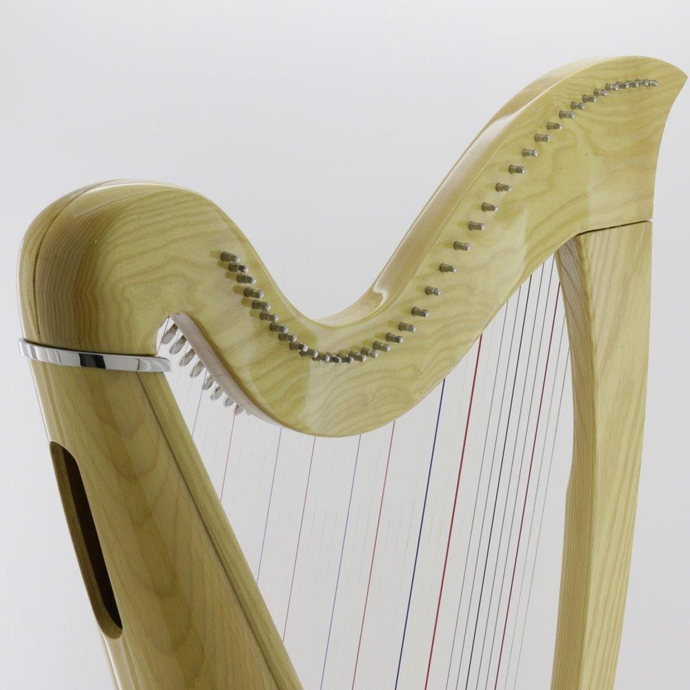 38 string harp curve