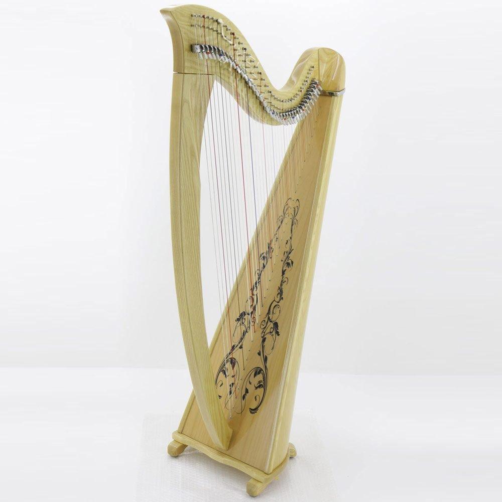 38 string harp natural