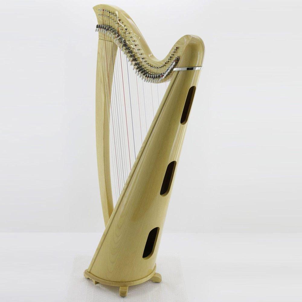 38 string harp soundbox