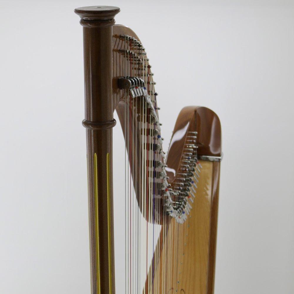 40 string harp column