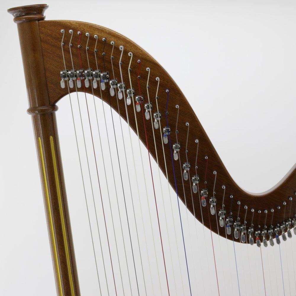 40 String Harp hardware