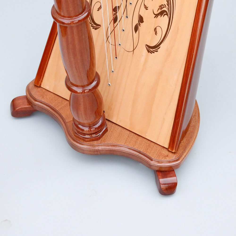 40 string harp base