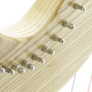 Tuning pins at Mikel Harp