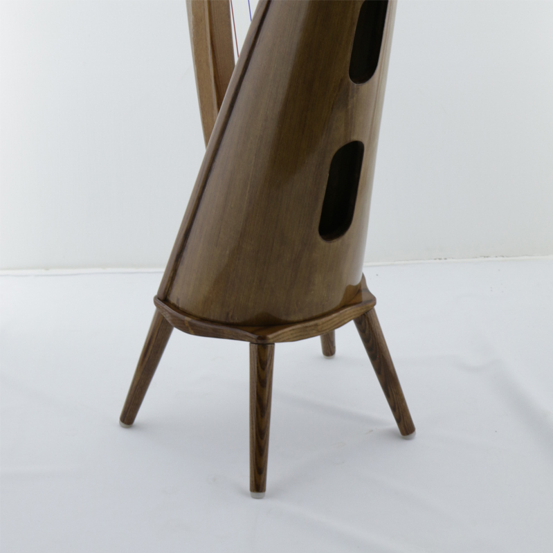 Harp legs fitted with Mikel Harp