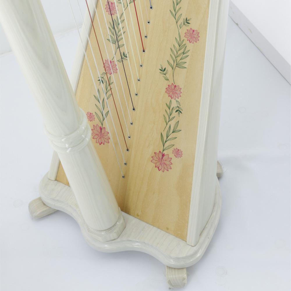 harp soundboard decals