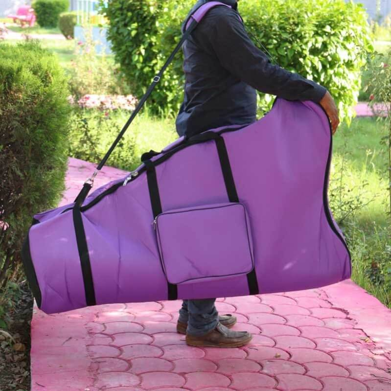 mikel harps carry bag shoulder