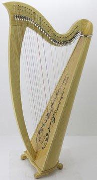 38 string lever harp