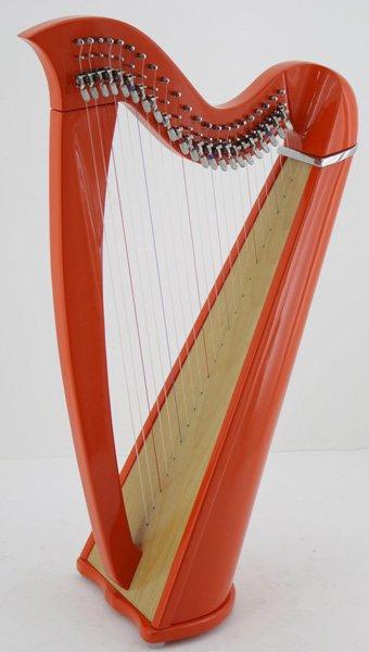 22 string harp