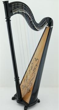 38 string classic harp