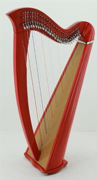 27 string harp