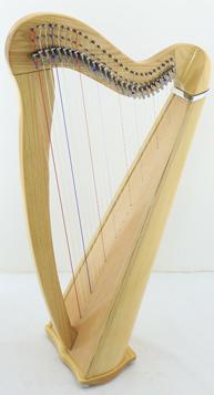 27 string celtic harp