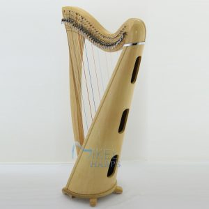 Daisy 34 string lever harp sound box