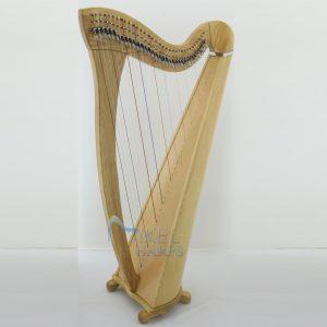 Daisy 34 string lever harp