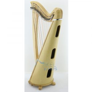 saffron 34 string harp sound box