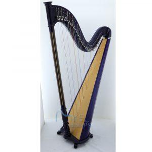 40 string harp blue