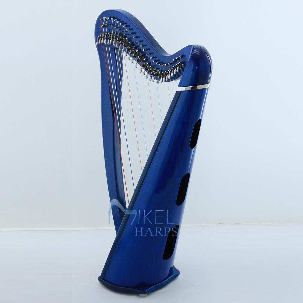 27 String Harp Blue color