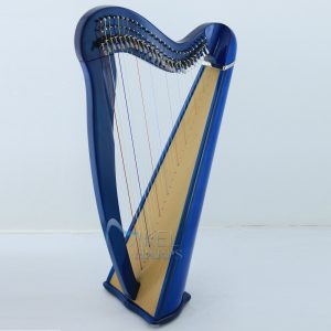 27 String Harp Blue Finish
